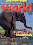 National Geographic World: puzzles, games and science experiments for children aged eight to 13.